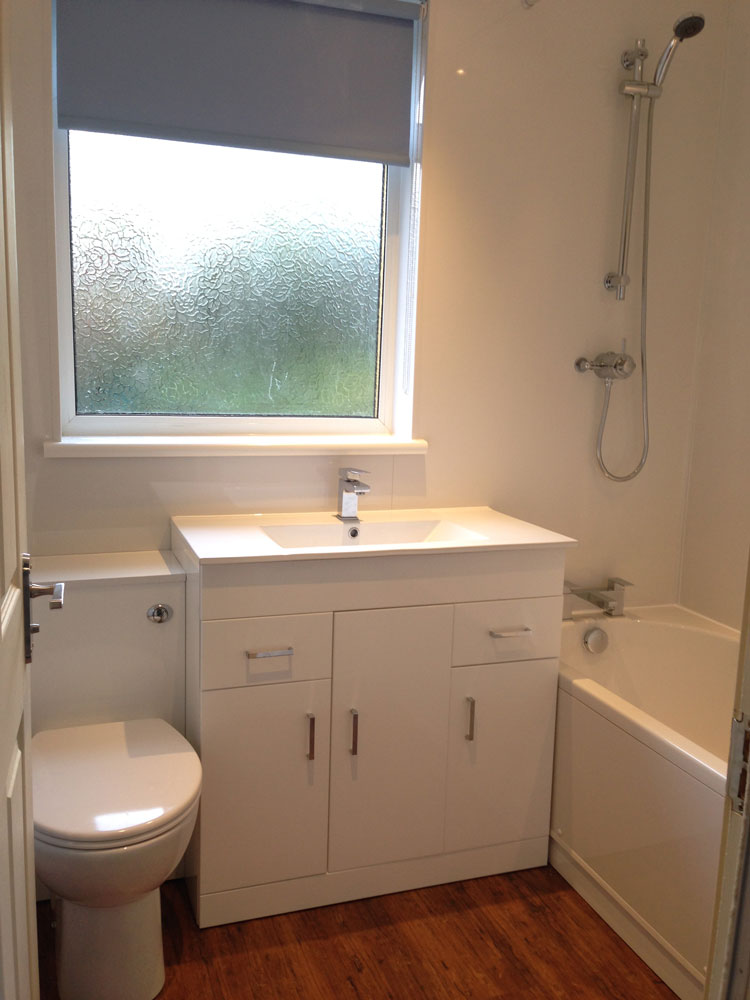Small bathroom completed