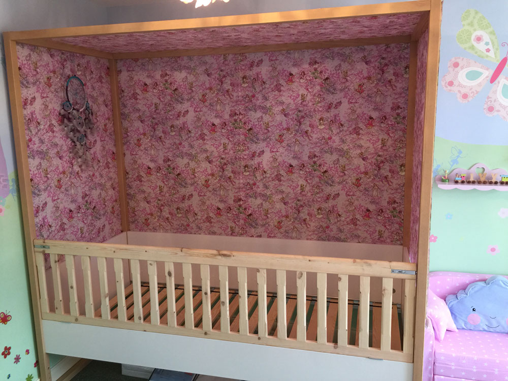 Custom cot bed