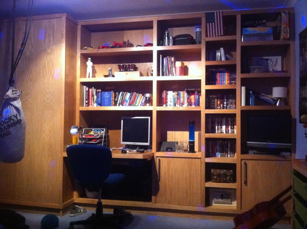 Oak home office