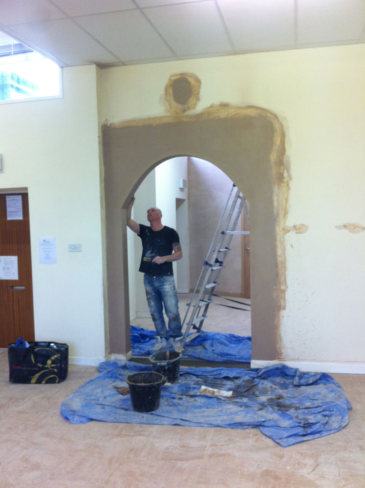 Archway in office