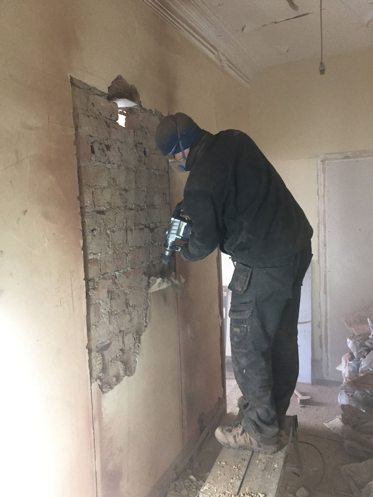 Creating a doorway