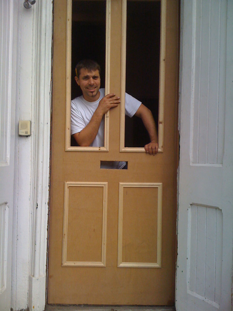 Non standard size, custom made front door