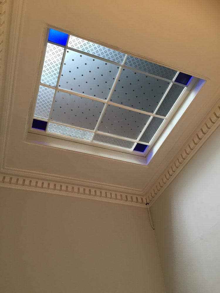 Skylight repaired